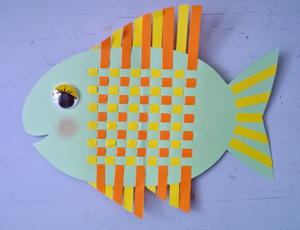 Рыбка-шахматная доска