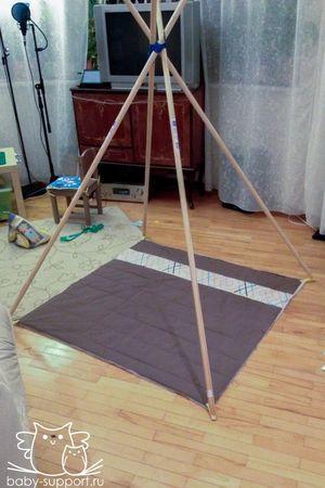 Каркас палатка-вигвам