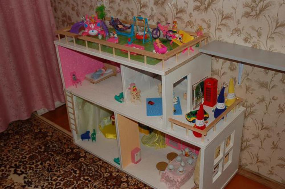 Кукольный домик своими руками для монстер хай фото 26