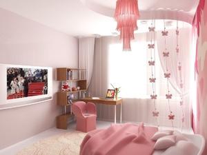 Оформление комнаты для девочки-подростка