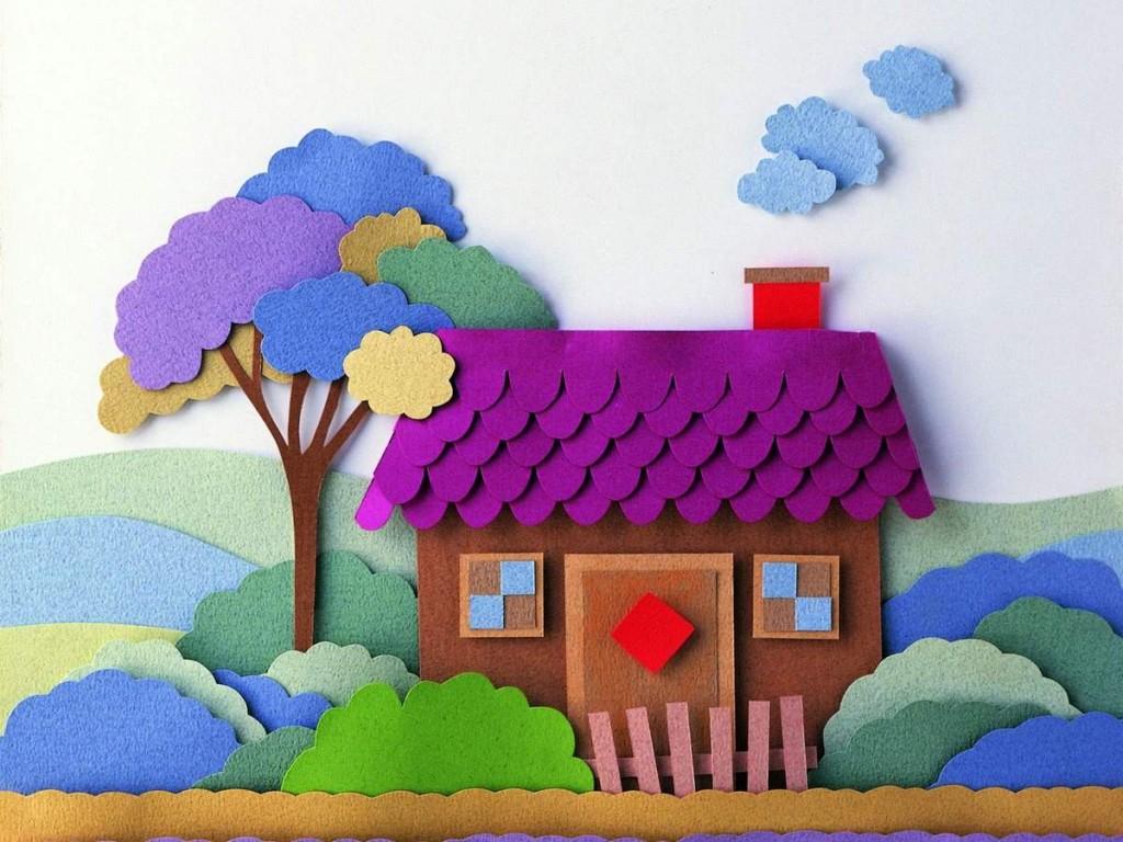 Схемы цветных аппликаций