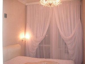 Выбор тюли для спальни